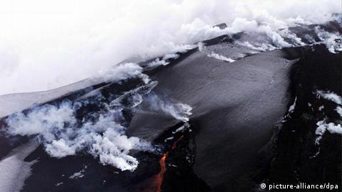 aktive vulkane island