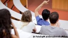 Vorlesung im Hörsaal Studenten
