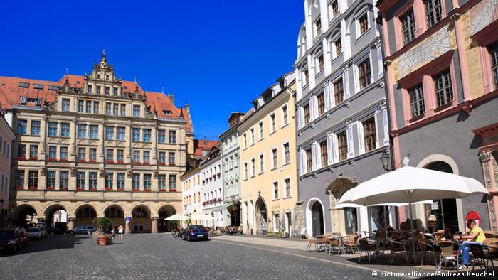 O centro histórico de Görlitz