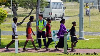 Australien Asylsuchende Juli 2014