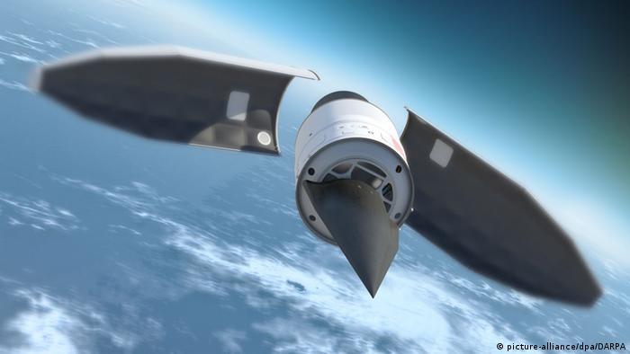 Überschallflugzeug Falcon HTV-2
