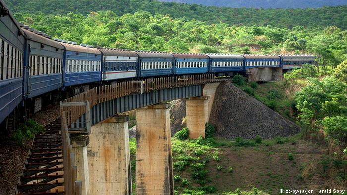 Tazara Railway Sambia
