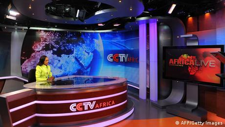 CCTV Africa kenia TV-Studio China Public Diplomacy Medien