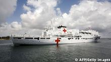 China Hospitalschiff Peace Ark vor Afrika (AFP/Getty Images)