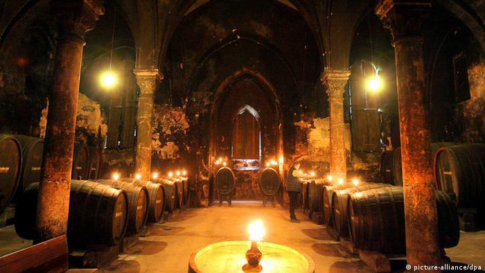 Mosteiro Eberbach, onde foi filmado o O Nome da Rosa
