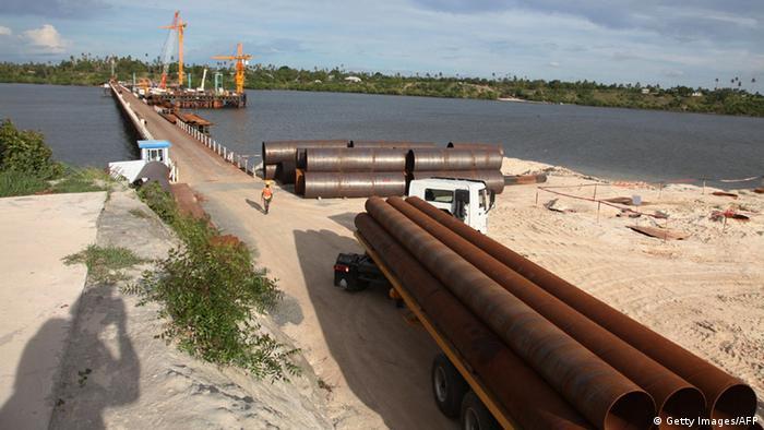 Tansania Daressalam Chinesisches Entwicklungsprojekt (Getty Images/AFP)