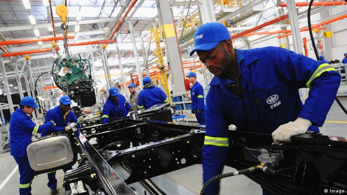 Südafrika Chinesische Investionen FAW Autowerk