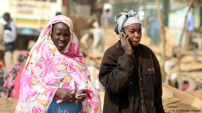 Afrika Mobilfunkmarkt Telekommunikation Handy Frauen