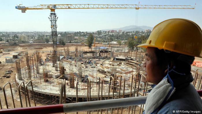 China Investment Afrika Äthiopien - AU Konferenz Center