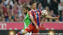 Fußball 1. Bundesliga 1. Spieltag Bayern München - VFL Wolfsburg
