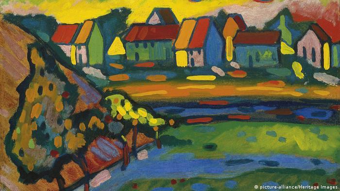 Wassily Kandinsky Gemälde aus Murnau (picture-alliance/Heritage Images)