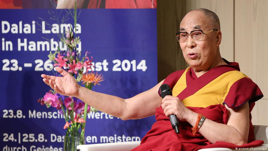 Dalai Lama: 'Hope for the best - prepare for the worst'   DW   31.08.2014