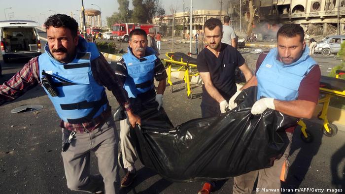 Irak Anschlag in Kirkuk 23. August