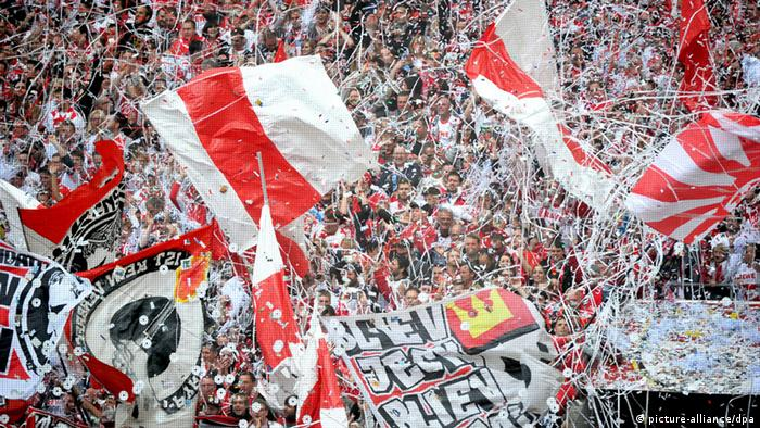Cologne's fans put on a show on opening day to celebrate their Bundesliga return