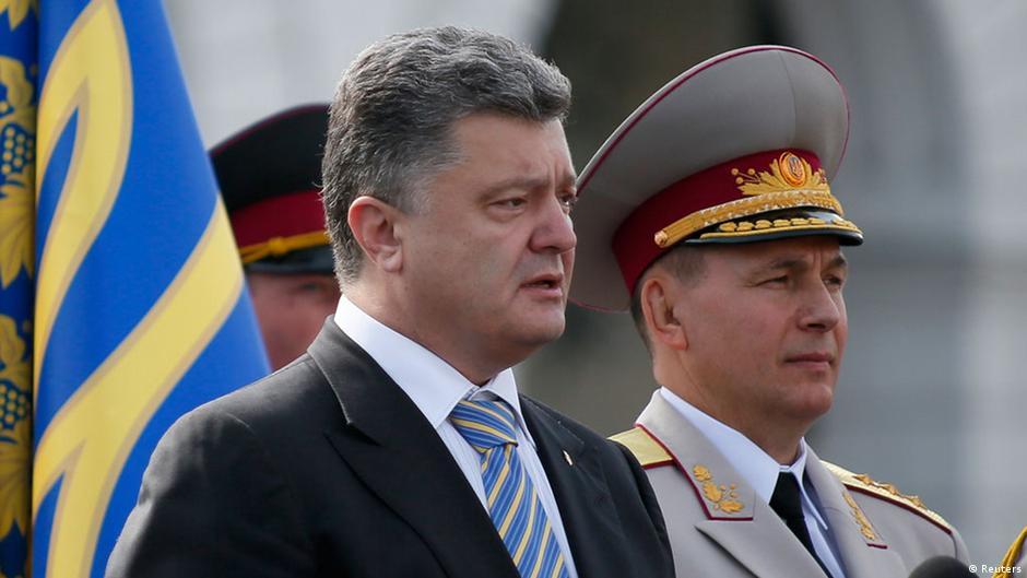 Kiev anuncia um rearmamento para defender a independência diante à Rússia