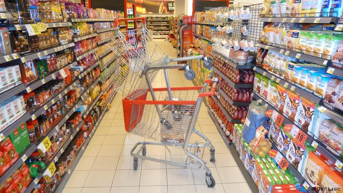 Lebensmittelgeschäft in Kroatien
