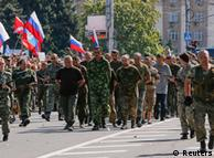 Освобожденные в Донбассе военнопленные заявили, что их захватили российские солдаты