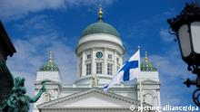 Die Kathedrale in Helsinki, aufgenommen am 26.06.2012. Photo: Bernd Thissen dpa