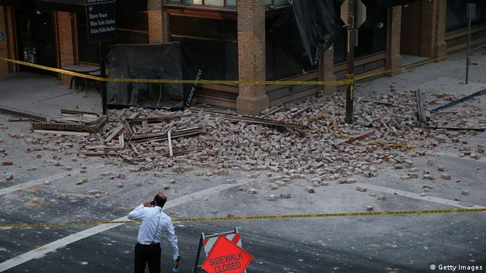 24.08.2014 Erdbeben Napa Kalifornien
