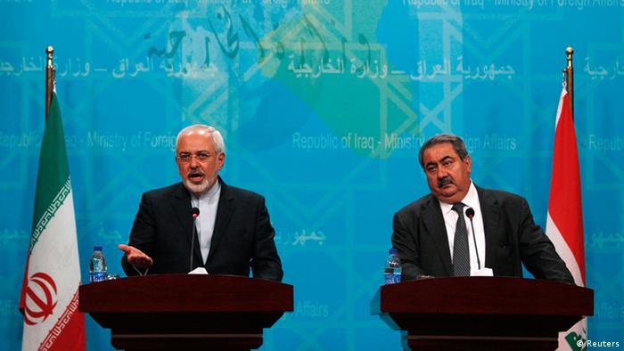 Pressekonferenz Javad Zarif und Hoshiyar Zebari