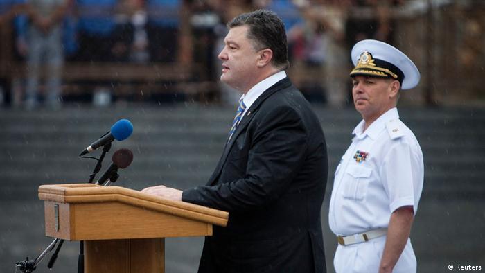 Петр Порошенко на праздновании Дня независимости Украины в Одессе