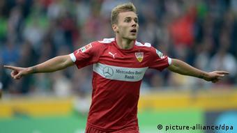 Alexandru Maxim opened the scoring for Stuttgart