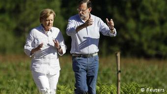 Merkel - Rajoy