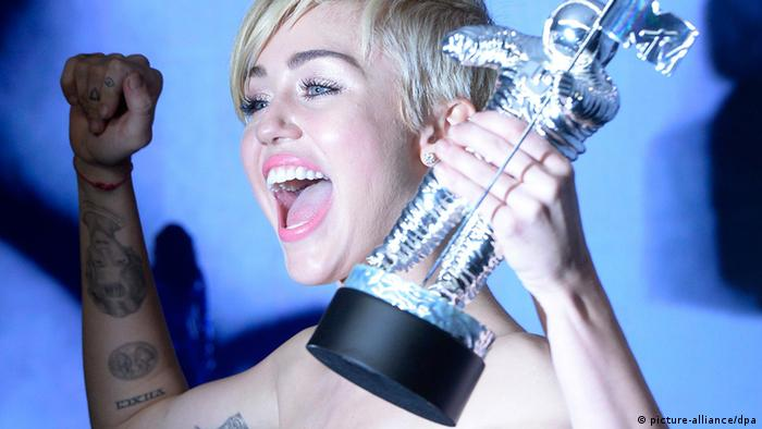 MTV Video Music Award Miley Cyrus (picture-alliance/dpa)