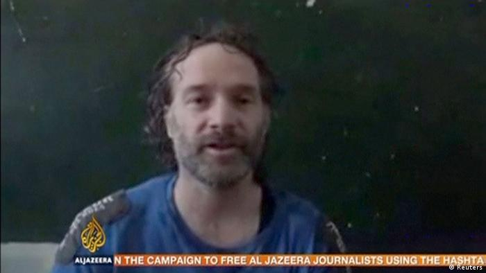 Video Still Al Jazeera Theo Curtis Journalist Syrien