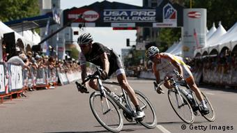 In August in Colorado, Voigt raced more than the clock one last time