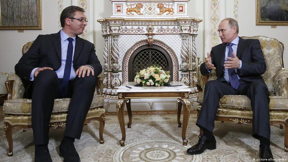 Вучиќ  Путин е против влада на СДСМ во Македонија