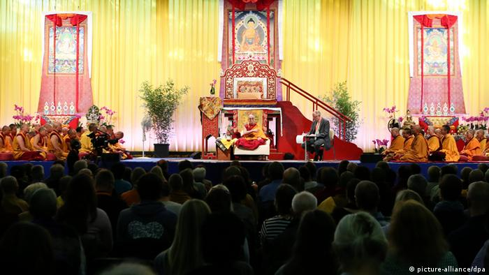 Dalai Lama in Hamburg 25.8.2014