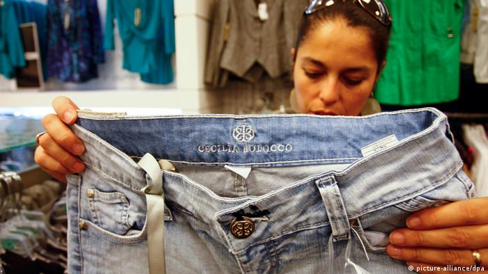 Chile Frau Jeans (picture-alliance/dpa)
