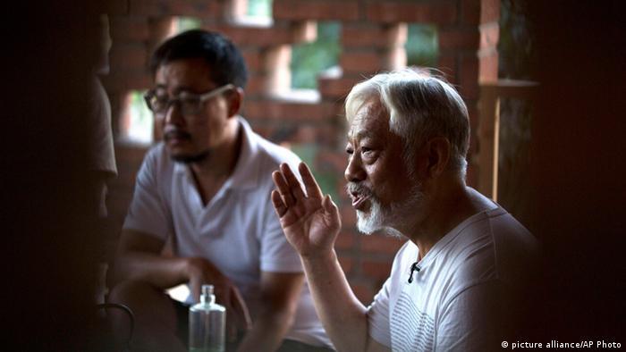 Li Xianting Filmkritiker aus China 24.08.2014 Peking