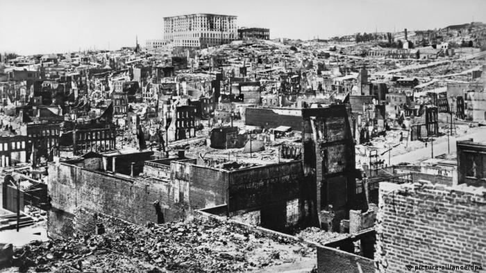 Erdbeben San Francisco 1906 (picture-alliance/dpa)