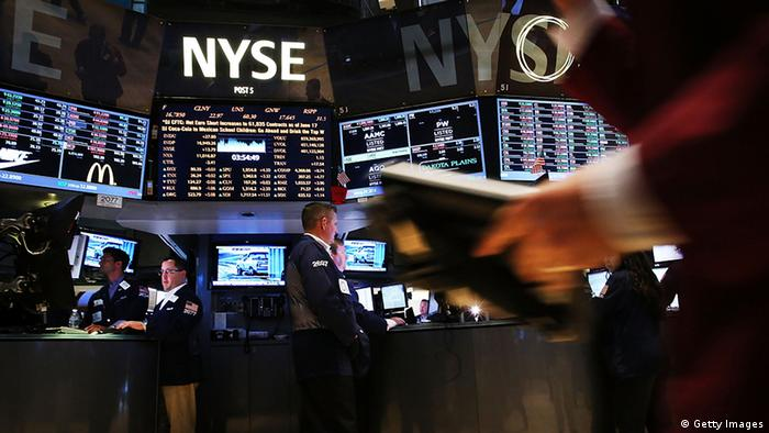 USA Börse NYSE S&P 500 Index Parketthandel
