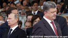 Ukraine Russland Petro Poroschenko und Wladimir Putin
