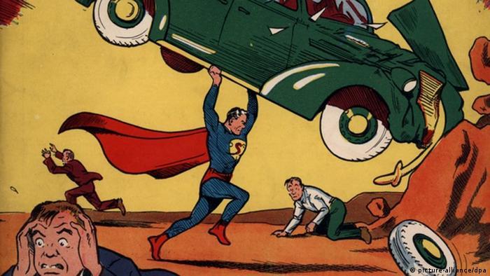 USA Superman Comic wurde für 3,2 Millionen US-Dollar versteigert