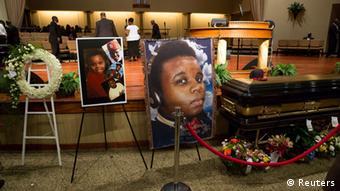 مایکل براون، نوجوان سیاهپوستی که در شهر فرگوسن کشته شد