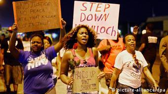 USA Proteste in Ferguson