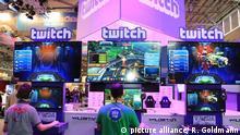 Online-Spieleplattform/ Twitch