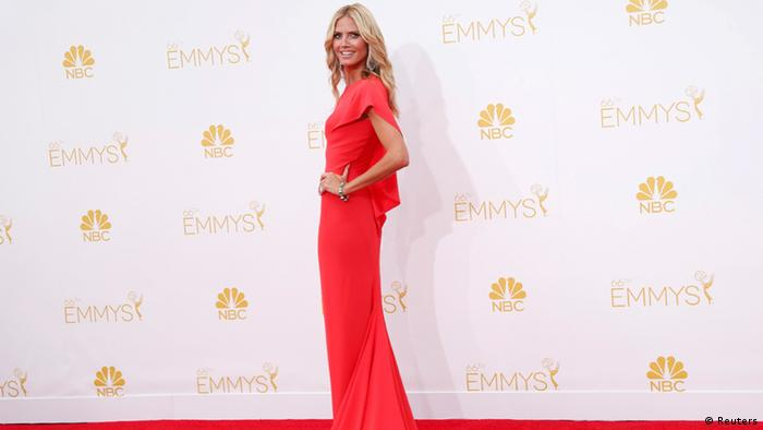 Heidi Klum at the Emmys (Reuters)