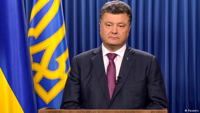 Ucrânia anuncia cessar-fogo, Rússia nega