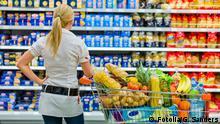 Symbolbild - Einkaufen im Supermarkt