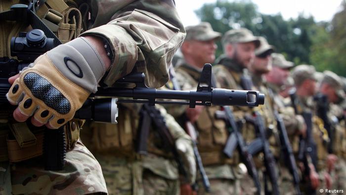 Українські бійці (фото з архіву)
