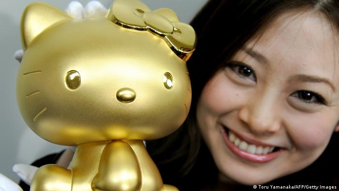 Hello Kitty aus Gold 2010