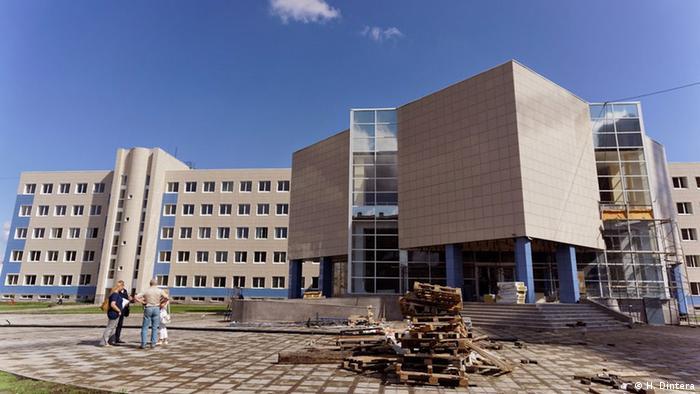 Kurz vor der Eröffnung der neuen deutsch-russischen Universität sind noch Bauarbeiten zu erledigen. (Foto: Kazan National Research Technological University)