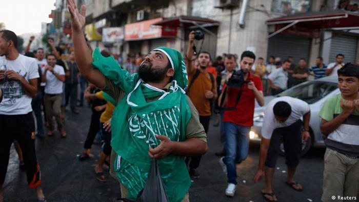 Palästinenser feiern Waffenstillstand