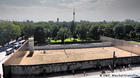 Die Gedenkstätte an der Bernauer Straße. (DW/F. Wiechel-Kramüller)