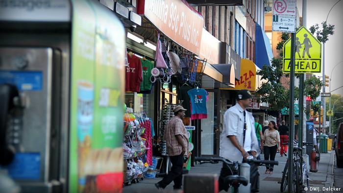 Geschäfte Spanish Harlem New York USA